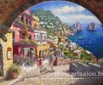 Sea Italy. Все картины могут быть одинарные или модульные, цена зависит от размеров