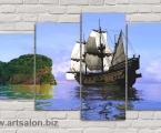 Ship island. Размер 97х165 см. цена 35 у.е.
