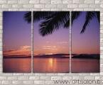 Palm sunset. Размер 70х110 см. цена 30 у.е. Размеры можно сделать больше или меньше. Покрытие глянцевый как стекло лак или матовый. Суперкачество!