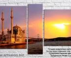 Turkey sea sunset