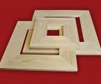 14.jpg Широкие плоские рамки, можно сделать цвет натурального дерева, сосна, дуб, орех, ясень и тд. или покрасить в любой цвет. Ширина профиля 6-9 см Размер рамки 60х40 см. цена 30 тыс с.