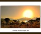 Lake Постер в рамке, озеро Чарвак, размер 60х80 см. размеры могут быть меньше. Цена 10 у.е.