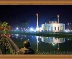 Minor Mosque. Размер 65х45 см ночное небо украшено стразами (можно без страз)