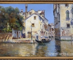 Picture Venice in a frame, size 70x110 cm