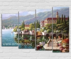 The Italian landscape1. Репродукция размер 80х120 см. цена 40 у.е.