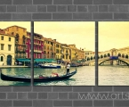 Venice 3 kv. Размер каждой части 60х60 см. (размеры можно заказать меньше) цена 35 у.е. за 3 модуля