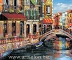 Venice Art6. Картины можно сделать в рамке, багете, или модульный вариант, цена зависит от размеров