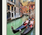 Venice poster boat 02