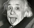 Einstein. Размеры могут быть любые, от А-4 до 60х90 см