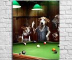 Poster-billiards-Game-room
