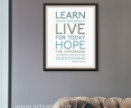 Quote_poster size 70x50 cm