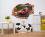 A hole in the wall, Ferrari1. Размер 60х82 см цена 5 у.е.
