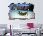 Hole in the wall, boat, Thailand size 60x90 cm цена 5 у.е.