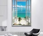 Window_2 Panel_ size 120x80 cm. Окно из 2 панелей, как модульное панно. Размер 120х80 см цена 25 у.е.