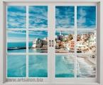 Window_Italy. Size 100x120 cm