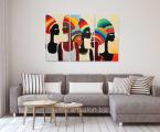 Модульная-картина-африканские-мотивы-фото-в-интерьере-гостиной