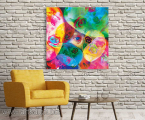 Fine-abstract-print-decor-wall-design-loft