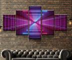 Wall-art-brick-5-piece-100x200-sm