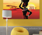 Africa-woman-art-print-decor