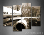4-Panels-Photo-Prints-Aircraft-Wings