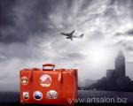 City plane, tourism