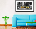 New-York-Taxi-Frame-art