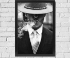 The man with a cigar