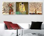 3-Posters-Gustav-Klimt-print-canvas-best-decor-wall-home-art-60x60-sm-3 цена за 3 шт 35 у.е.