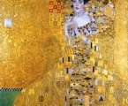 """Gustav Klimt. Portrait of Adele Bloch-Bauer, 1907. Американский предприниматель Рональд Лаудер, открывая Новую галерею в Нью-Йорке, подыскал настоящую жемчужину для своего музея. Как Лувр привлекает тысячи посетителей """"Моной Лизой"""", так и Новая галерея собирает многочисленных любителей искусства с помощью картины Густава Климта. Его """"Портрет Адели Блох-Бауэр"""" обошелся Лаудеру в 135 миллионов долларов."""