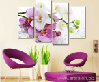 Beautiful-Butterfly-font-b-Orchid-b-font-4-Panels-set