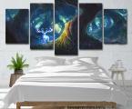 Fantasy-paintings-living-room-wall-art-decor