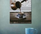 Кофейный постер, размер 60х45 см (размеры могут быть любые).Coffee poster, size 60x45 cm (dimensions can be any)