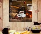 Панель, Список пряностей и специй, улучшающие вкус кофе. Размеры любые, от 20х20 см до 60х60 см цена 15 у.е.