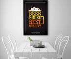 Постер Beer-House-60x90-sm
