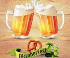 Beer-mugs-octoberfest-poster