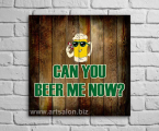 Beer-wood-panel 2-60x60-sm