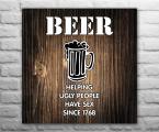 Beer-wood-panel 3-60x60-sm