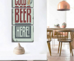 Canvas-Painting-Letter-Beer-Abstract-Wall-Pictures