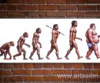 Evolution of Development poster size 100x38-sm