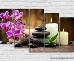 Лучшие модульные картины, орхидеи, спа, релакс