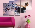 5-piece-canvas-wall-art-best-of-woman-collage-butterfly-art