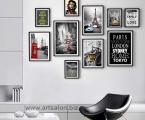 Art_Frame_Wall_Decor_www.artsalon.biz. В таком стиле модно оформлять стены