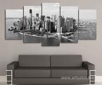 New-York-City-Sky-Modular-picture-90x190-sm 40 у.е. (форма оплаты любая) Картина может быть выполнена цветной или черно белой (Предзаказ, сроки в зависимости от загруженности)
