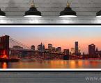 New-York-Panorama -70x180 sm Суперкачественная печать, материал, фотокартон, бумага, холст, планшеты, модульные панели. Картины и постеры можно оформить в рамки из натурального дерева, форма и цвета любые, или без рамки в виде планшета (модный стиль хай тек) После печати все работы покрываются лаком, матовым или глянцевым (печать без лака со временем выцветает и тускнеет, лак защищает от воздействия внешней среды, влаги, солнца и ультрафиолета) Наши работы качественные, крепкие, не боятся влаги и не такие опасные как картины на стекле (стекло тонкое, всего 3 мм (наши работы, легкие, крепкие, объемные, толщина панелей модульных картин 2 см) стекло тяжелое, имеет дешевый вид, сильно блестит, дает отражения как в зеркале, яркие блики, картину плохо видно и надо помнить, что стекло это хрупкий и опасный материал!) Любые картины можно сделать модульные из частей, или одинарные. Наши работы - это гарантия качества на долгие годы! Цена зависит от размеров и вида исполнения. Пишите нам artpost@bk.ru Telegram, WhatsApp (99890) 975-10-05