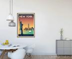 New-York-poster-wall-decor Размеры постеров можно заказать любые