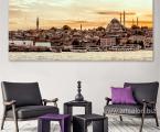 Turkey, Istanbul, panorama. Можно сделать модульную из частей