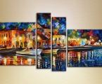Painting, size 80x140 cm