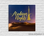 Arabian Nights_60x60_cm