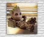 Baby-Groot-panel-60x60-sm
