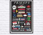 Poster-TV_friends размер 70х50см 15у.е. (В рамке или планшет)